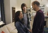 Addison Timlin, Scott Michael Foster, and Anthony Edwards in Zero Hour.<br />