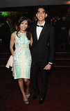 Dev Patel and Freida Pinto coupled up inside InStyle's bash.