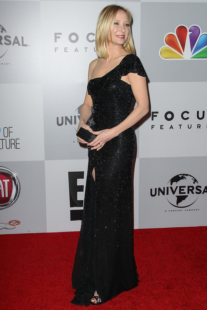 Anne Hache hit the red carpet.