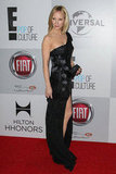 Anne Heche wore black.