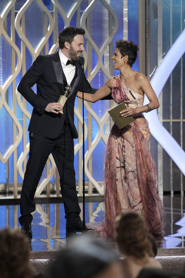 Halle Berry presented the best director award to Ben Affleck.