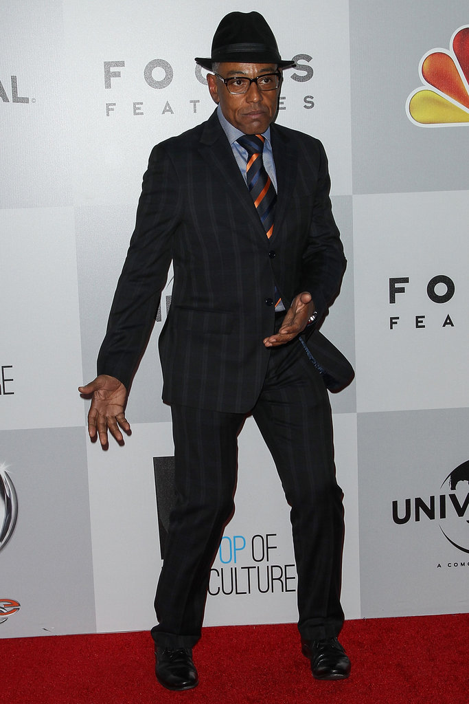 Giancarlo Esposito attended the party.