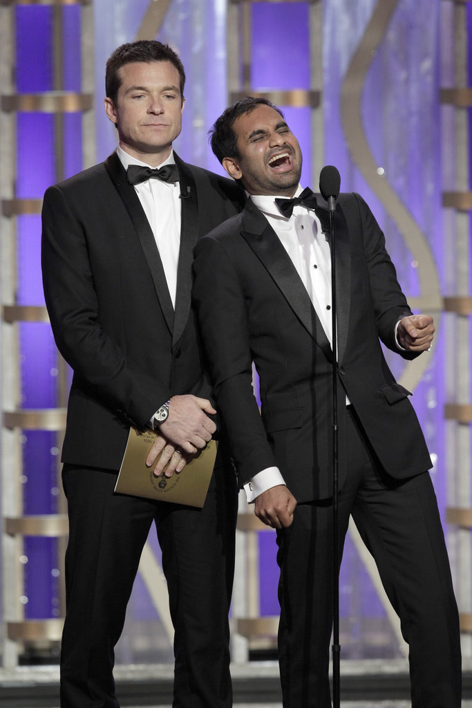 Aziz Ansari joked around about the Downton Abbey cast smoking weed.