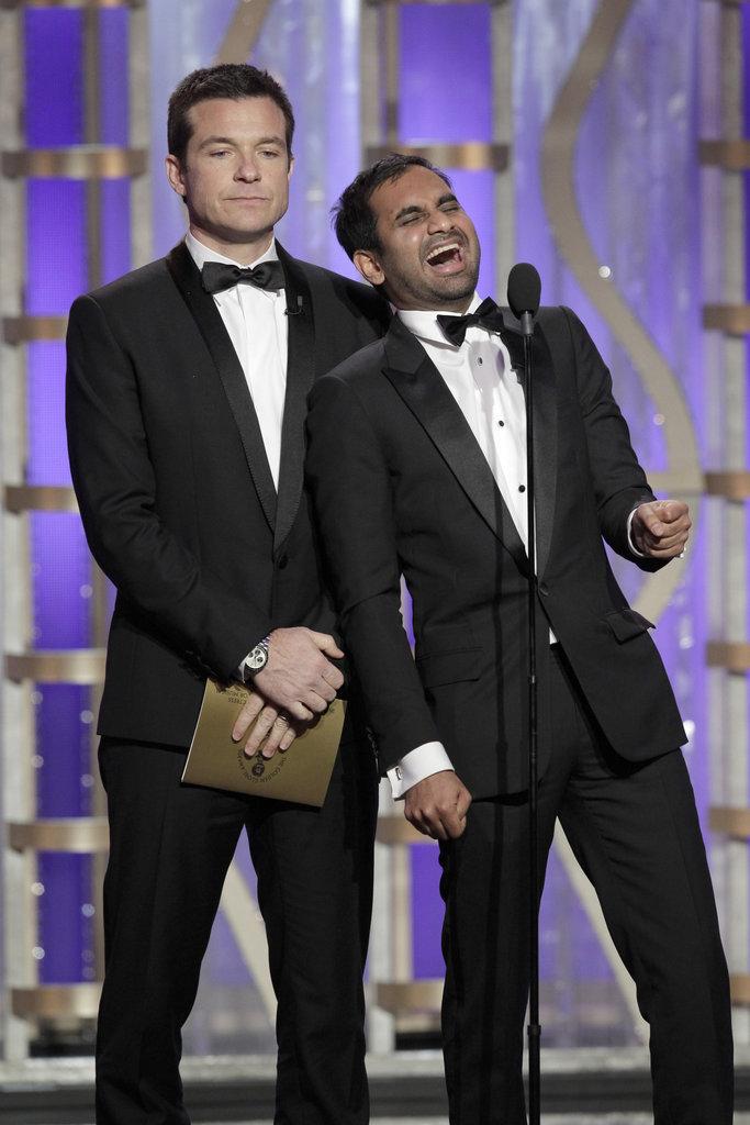 Aziz Ansari joked around about the Downton Abbey cast smoking weed.