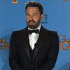 Ben Affleck's Golden Globes Backstage Interview (Video)