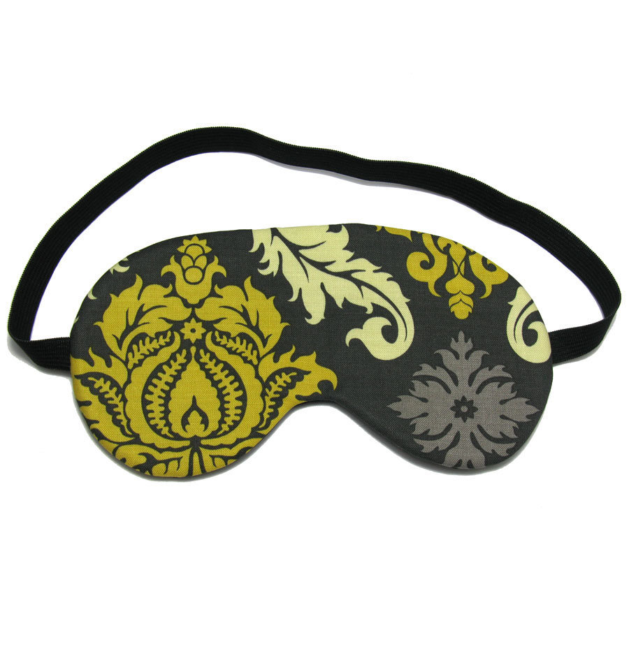 This eye mask ($12) claims to block out all light, ensuring you'll be able to grab a catnap or enjoy a full night's sleep wherever you are.
