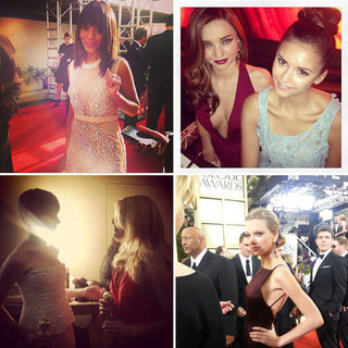 Golden Globes 2013 Instagram Pictures