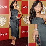 Ashley Madekwe | Golden Globes Party Fashion 2013