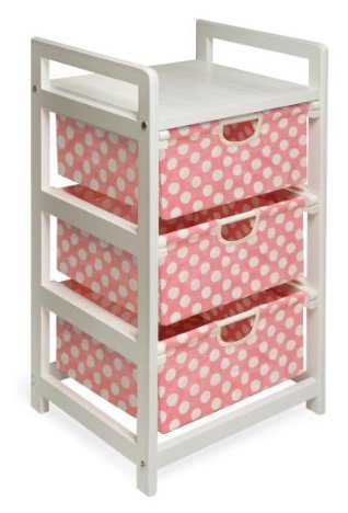 Badger Basket Three-Drawer Storage Unit