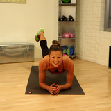 One-Minute Fitness Challenge: Plank With Arm and Leg Reach