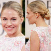 Sienna Miller&#039;s Red Carpet Golden Globes Hair
