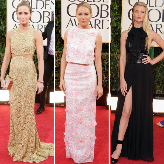 See All Of The Beautiful Brits At The 2013 Golden Globe Awards