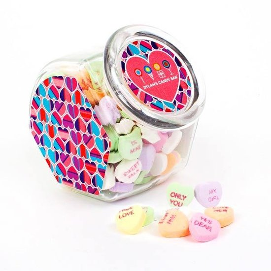 Dylan's Candy Bar Conversation Hearts Jar