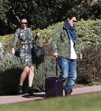 Katy Perry and John Mayer took a trip to Santa Barbara.