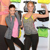 Adriana Lima and Erin Heatherton Promote VS Fitness Line