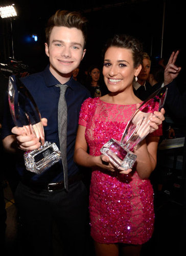 Lea Michele and Chris Colfer both nabbed big wins at the People's Choice Awards.