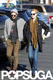 Expectant Parents Evan Rachel Wood and Jamie Bell Smile Big in LA