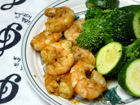 Chili Lime Garlic Shrimp Treble in the Kitchen