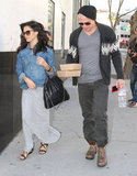 Channing Tatum stepped out to lunch with Jenna Dewan in LA.