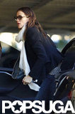 Jennifer Garner got out of her car for errands in LA.