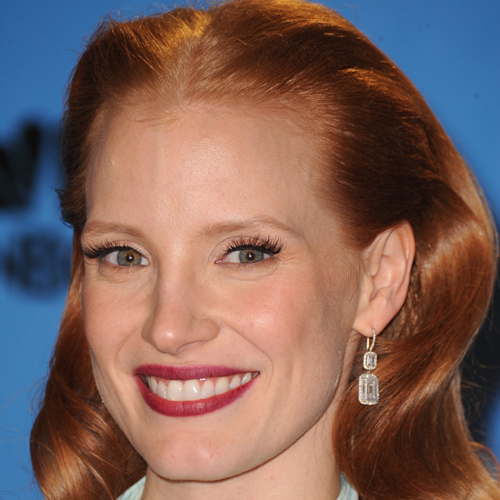 How To Get Jessica Chastain's Golden Globes Makeup Look