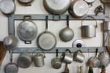 Hook Pots and Pans on the Wall