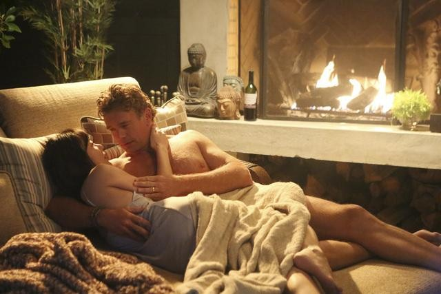 Yunjin Kim and John Schneider on Mistresses.