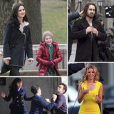 Elizabeth Banks, Colin Farrell, Zooey Deschanel, and More Stars on Set
