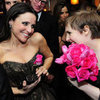 Lena Dunham and Julia Louis-Dreyfus at Golden Globes 2013