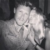 Lara Bingle celebrated Max May's birthday during the week. Source: Instagram user mslbingle
