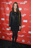 Kaya Scodelario attended the premiere of Emanuel and Truth About Fishes in Sundance.