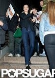 Miranda Kerr Makes a Chic Arrival in LA