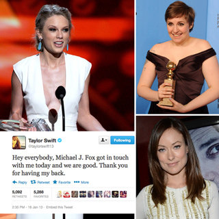 Top Celebrity Tweets: Taylor Swift Lena Dunham Olivia Wilde