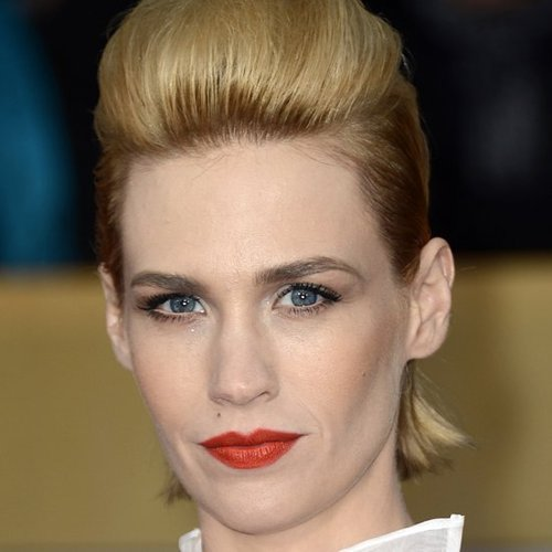January Jones at the SAG Awards
