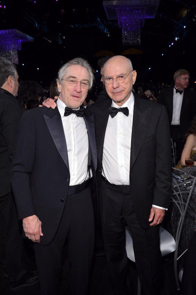 Robert De Niro and Alan Arkin