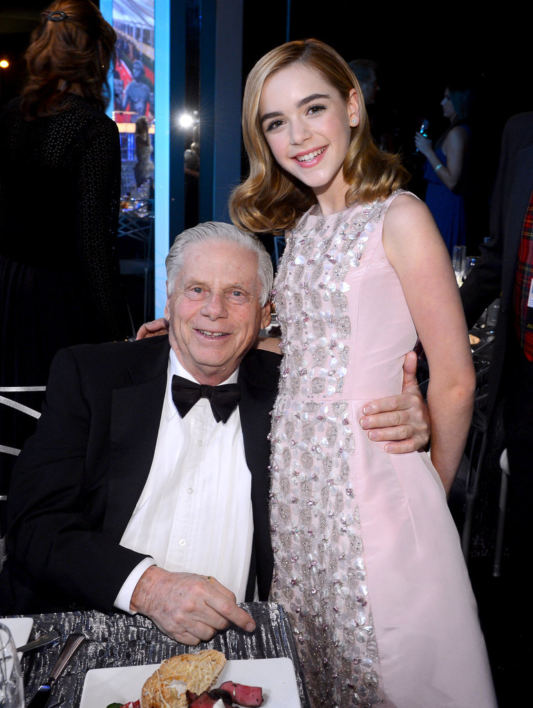 Kiernan Shipka and Robert Morse