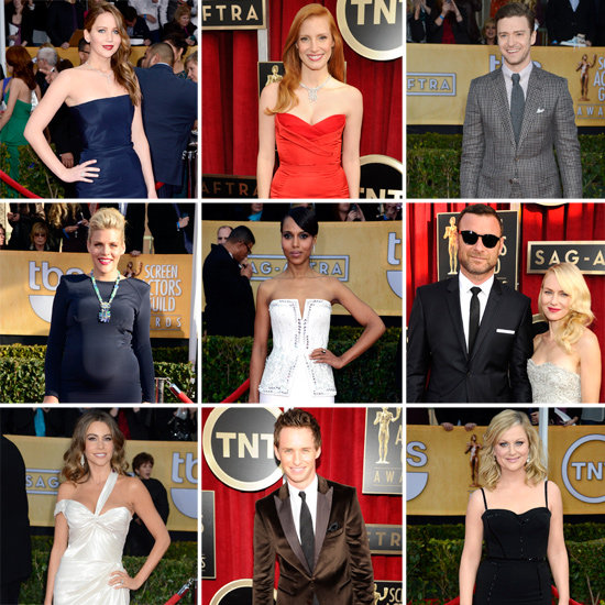 See All the Stars Arriving on the SAG Awards Red Carpet