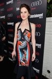Downton Abbey's Michelle Dockery wore Peter Pilotto to Entertainment Weekly Pre-SAG party in LA.