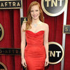Jessica Chastain in McQueen Pictures at 2013 SAG Awards