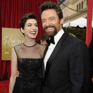 Anne Hathaway at the SAG Awards 2013 (Pictures)