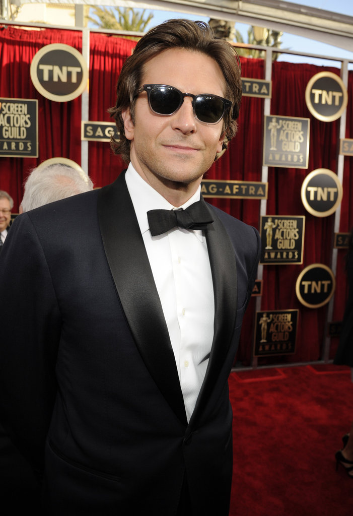 Bradley Cooper wore Tom Ford to the SAG Awards.