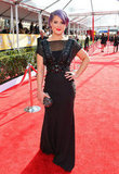 Kelly Osbourne hit the red carpet at the SAG Awards.