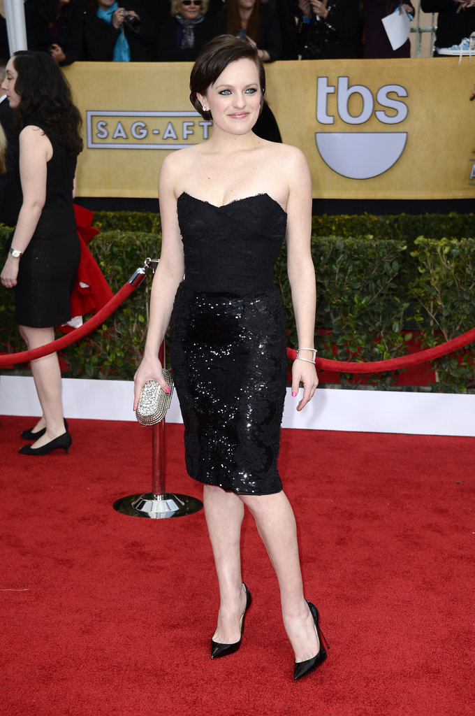 Elisabeth Moss stepped out for the SAG Awards.
