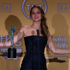 Jennifer Lawrence SAG Awards Win Interview (Video)