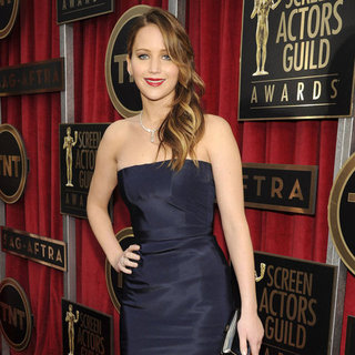 Jennifer Lawrence at the SAG Awards 2013