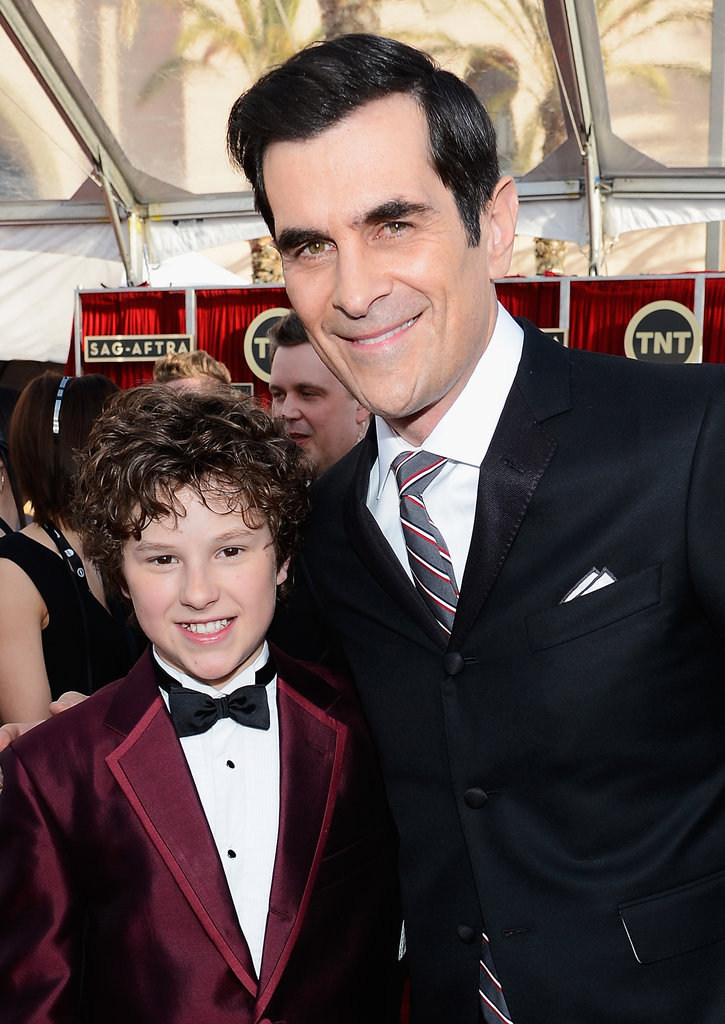 Ty Burrell linked up with Nolan Gould at the SAG Awards.