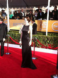 Michelle Dockery stunned in cutouts. Source: Twitter user TNTweknowdrama