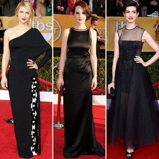 2013 SAG Awards Red Carpet Trends: Black Dresses