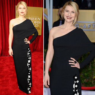 Claire Danes: SAG Awards Red Carpet Dresses 2013