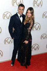 Cash Warren and Jessica Alba(24th Annual Producers Guild Awards)